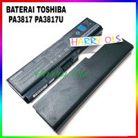 BATERAI LAPTOP TOSHIBA L630 - L635 PA3817U - 1BRS ORI