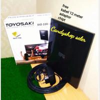antena tv dalam / indor antena tv luar / outdor toyosaki Aio220