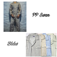 baju tidur piyama pria swan - PP ABU-ABU, M