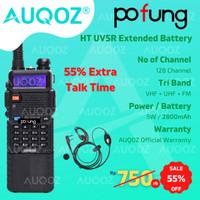 AUQOZ x Pofung UV5R Series Walkie Talkie - Radio HT UV5RE 2800mAh
