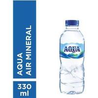 AQUA BOTOL 330ML (1PCS)