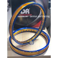 Velg TDR W Shape 160/185 Ring 17 Blue Gold Series Twotone Original