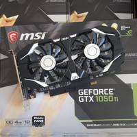 MSI Nvidia GeForce GTX 1050 Ti / 1050Ti OC 4GB DDR5 DUAL FAN