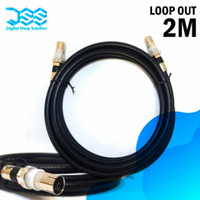 Kabel Loop Out Antena Set Top Box 1M