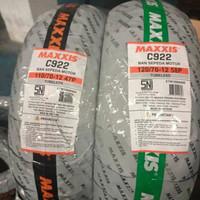 Ban Maxxis C922 110/70-12 & 120/70-12 no pirelli swallow michellin fdr