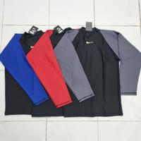Baju Atasan Renang Pria Tangan Pendek/ Panjang - Merah, M