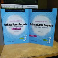 Buku Latihan Bahasa Korea Terpadu Untuk Orang Indonesia Jilid 3 + CD