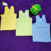 Kaos Baju Pakaian Singlet Tanktop Dalam Dalaman Anak Bayi Balita Katun - S