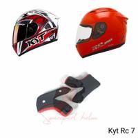 Busa helm pipi KYT RC7, RC 7, RC SEVEN ( kancing plastik)