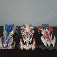 Auldey Go For Speed 880 Lightspeed Dragon + Armored Dragon + Sonic Bat