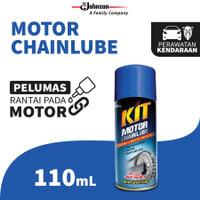 KIT Chain Lube 110mL pelumas pembersih rantai gear motor sepeda FRESH