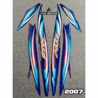 Stiker Motor Mio Sporty 2007 - Striping Motor Mio 2007 Biru