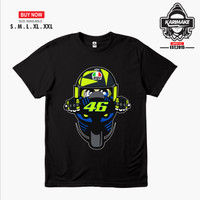 Kaos Baju Motogp Valentino Rossi Signature Kaos Otomotif - Karimake