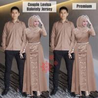 Baju Couple Muslim Cp Brokat Panjang Sarimbit Brukat Kondangan Pesta