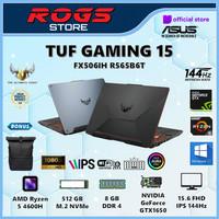 ASUS TUF FX506IH-R565B6B Ryzen 5 4600H 8GB 512ssd GTX1650 W10 15.6