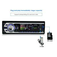 AMPrime Tape Audio Mobil Multifungsi Bluetooth USB MP3 FM Radio- Black