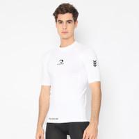 PROMO !! Baju Training Running Gym Waldos Fit Boogie White - Putih, S