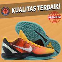 Sepatu Basket Sneakers Nike Kobe 6 Protro Allstar Orange County OREN