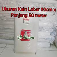 Kain Kafan/Mori Bahan Tipis Bersih Cap Silver Bell L-90cm x P-50m