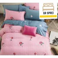 Sprei Set Bed cover Katun Jepang Original Import Ukuran 160x200 T.30cm