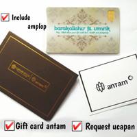 Emas Antam 0,5 Gram Gift Series - Gift Card Barakallah