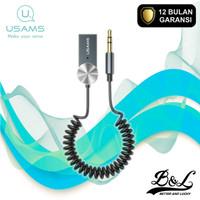 USAMS SJ464 Car Wireless Audio Receiver AUX 3.5mm Bluetooth 5.0