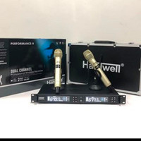 MIC WIRELESS HARDWELL EVO 9 HANDLE(BLACK/GOLD) ORIGINAL GARANSI RESMI