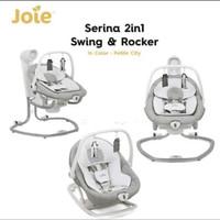 Joie Serina 2in1 / 2 in 1 Swing & Rocker Baby Bouncer/ Ayunan Otomatis
