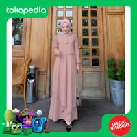 Baju Gamis Wanita Muslim Terbaru Miza Dress Murah Berkualitas