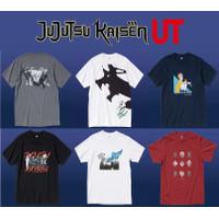 [READY STOCK] UNIQLO JUJUTSU KAISEN JJK UT T-SHIRT KAOS ANIME