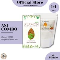 ASI BOOSTER COMBO / Susu Almond + Herbal / Efektif / Alamon