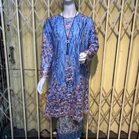 Kebaya Modern Tunik Tile Brukat Jumbo Ld 130 Baju Pesta Kondangan