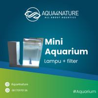 Mini Akuarium Gex Set Lampu + Filter