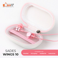 Sades Wings 10 Gaming Earphone/ Gaming Headset