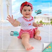 ❤️baju bayi jumper bayi cewe model astrid lucu murah ❤️