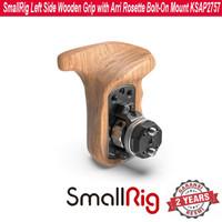 SmallRig Left Side Wooden Grip with Arri Rosette Bolt-On Mount 2757