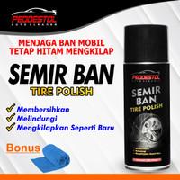 Semir Ban Super Premium Tire Polish Black Magic New Original Peddestol