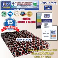 KASUR BUSA ROYAL FOAM UK 200X180X20 D23 (NO. 1) FREE COVER + VACUM - kotak bulet