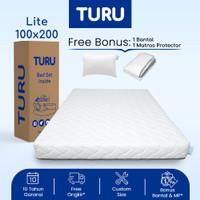 Kasur Base Support Foam TURU LITE uk. 100x200 (Super Single) + BANTAL