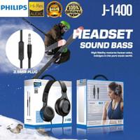 Headphone Gaming Headset Philips J-1400