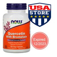 Now Foods Quercetin with Bromelain Food immune imun fungsi pernapasan