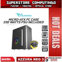 Alcatroz Azzura Neo 5 Micro-ATX PC Case - Alcatroz Azzura NEO V
