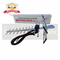 Antena tv digital outdoor PF HD-12+ kabel 10 meter