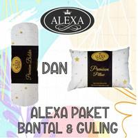 Paket   1set   Bantal & Guling Hotel   Premium   ALEXA