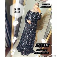 DRESS WANITA ZAIRA CERUTY BABYDOLL VDRE-123 - Hitam, L