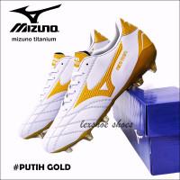 soccer shoes sepatu bola Mizuno titanium - Putih, 43