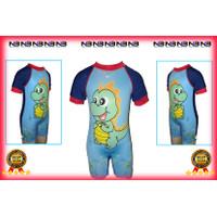 Baju Renang cowok Junior Karakter Dino ZigZag