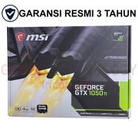 MSI GeForce GTX 1050 Ti 4GB OC DDR5 DUAL FAN 1050Ti