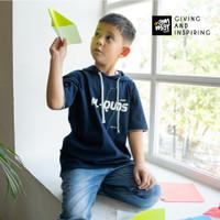 Baju Kaos Anak Laki Laki Remaja Ammar Kids ATH03 Palestina Al Quds - Al Quds, S