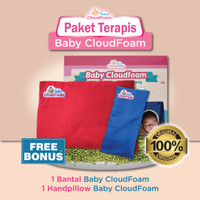 Paket Terapis - Bantal bayi Baby CloudFoam & Handpillow Baby CloudFoam
